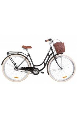 """Велосипед 28"""" Dorozhnik RETRO PH 2019 (черный)"""