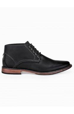 Men's casual lace-ups T262 - black