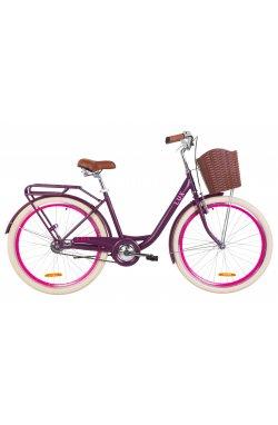 "Велосипед 26"" Dorozhnik LUX 2019 (сливовый (м))"