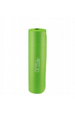 Коврик (мат) для йоги и фитнеса 4FIZJO NBR 1 см 4FJ0017 Green