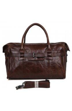Большая кожаная сумка, телячья кожа, винтажная фактура 7079Q