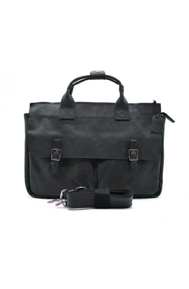 Мужская сумка для ноутубка и документов TARWA RA-7107-2md, crazy horse
