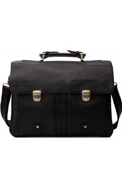 Мужской кожаный вместительный портфель Tiding 3820