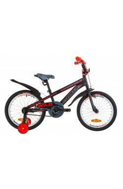 """Велосипед 18"""" Formula WILD 2019 (бирюзовый с оранжевым)"""