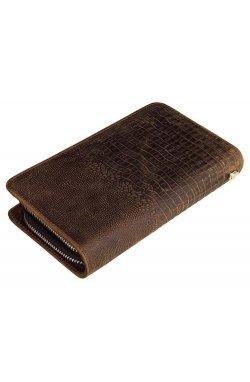 Многофункциональный клатч из натуральной кожи John McDee 8070R-1