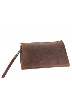 Винтажная кожаная папка, мужской клатч А5 7160R