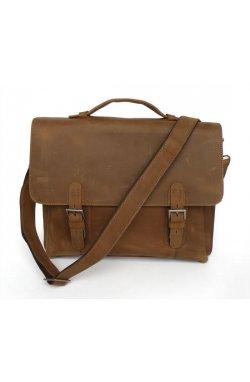 Мужской портфель, лошадиная кожа 7035B-1