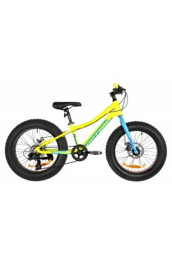 "Велосипед 20"" Optimabikes PALADIN DD 2019 (желто-синий)"