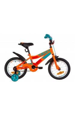"""Велосипед 14"""" Formula RACE 2019 (желто-оранжевый)"""