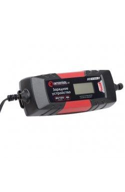 Зарядное устройство 6/12В, 1/2/3/4А, 230В, зимний режим зарядки, дисплей, макс