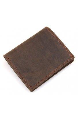 Кошелек мужской Vintage 14429 винтажный стиль Коричневый, Коричневый
