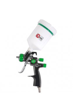 LVLP GREEN NEW Профессиональный краскораспылитель 1,3 мм, верхний пластиковы