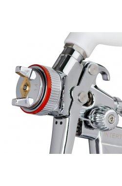 HVLP II Профессиональный краскораспылитель 1,4 мм, верхний пластиковый ба