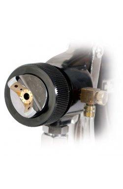 HVLP BLACK PROF Краскораспылитель 1,5 мм, нижний металлический бачок регулиру