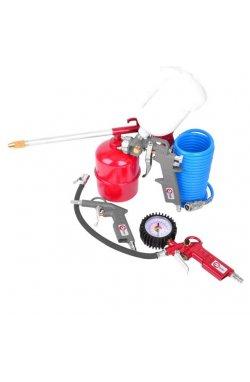 Набор покрасочный пневматический 5 ед. INTERTOOL PT-1502