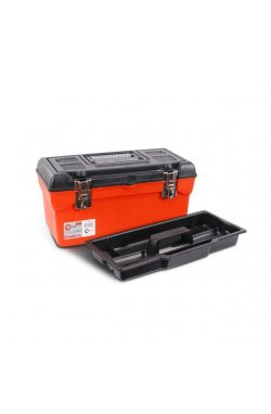 "Ящик для инструмента с металлическими замками 16"" 396x216x164 мм INTERTOOL BX-1116"