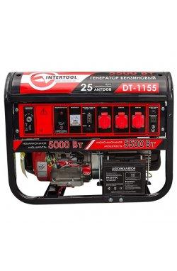 Генератор бензиновый макс. мощн. 6 кВт., ном. 5,5 кВт., 13 л.с., 4-х тактный, эл