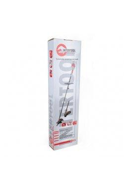 Триммер электрический 1000 Вт, 0-11000 об/мин, капроновая нить, нож INTERTOOL DT-224