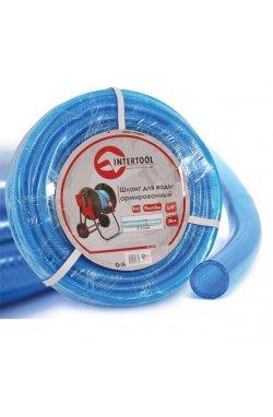 """Шланг для воды 3-х слойный 3/4"""", 20 м, армированный PVC INTERTOOL GE-4073"""