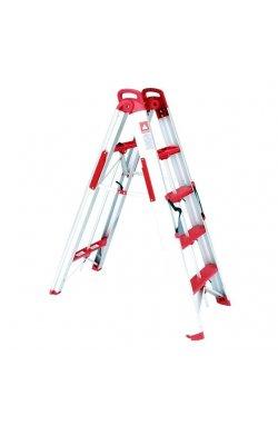 Лестница-стремянка раскладная трансформер 1360 мм INTERTOOL LT-5000