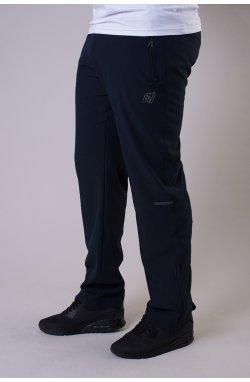 Брюки без подкладки 70160-AV Темно-серый