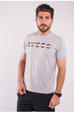 Футболка 2209-AV Серый