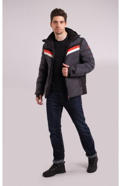 Куртка лыжная 70285-AV Темно-серый