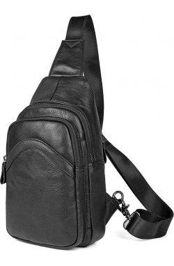 Сумка мужская Vintage14477 Черная, Черный
