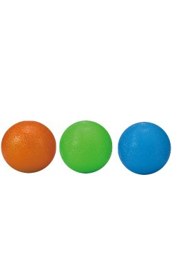 Мячики-тренажеры для кисти LiveUp GRIP BALL, набор 3 шт., LS3311