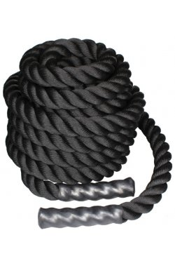 Канат для кроссфита LiveUp BATTLE ROPE, 9 м, LS3676-9