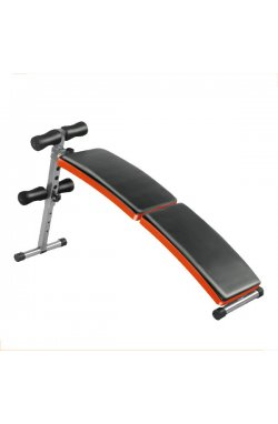 Раскладная скамья для пресса LiveUp FITNESS SIT-UP BENCH, LS1209