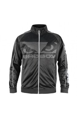 Спортивная кофта Bad Boy Track Black/Grey