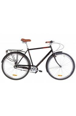 """Велосипед 28"""" Dorozhnik COMFORT MALE PH 2019 (черный)"""