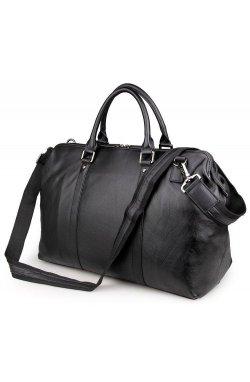 Мужская дорожная сумка из кожи John McDee 7322A