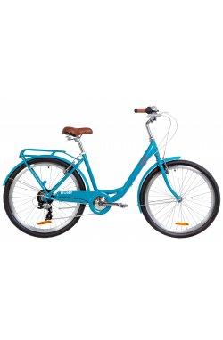 "Велосипед 26"" Dorozhnik RUBY 2019 (лазурный)"