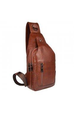 Модный рюкзак JD4004Х на моношлейке из натуральной телячьей кожи