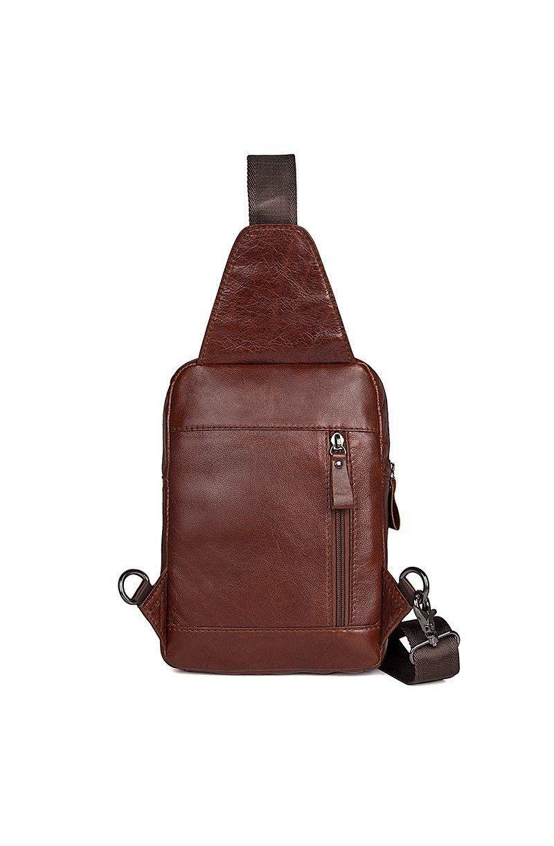 1ee7c399da8d Мужская кожаная сумка через плечо John McDee 4006B.Код: sb-JD4006B ...