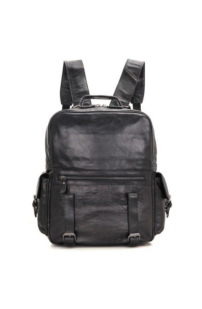 Рюкзак из телячьей кожи JD7355А фирмы John McDee