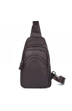 Мини-рюкзак мужской на одну шлейку JD4013Q John McDee