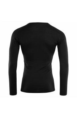 Термофутболка Aclima LightWool Shirt Crew Neck Man JetBlack L