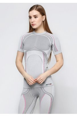 Термофутболка дружин. Accapi X-Country Short Sleeve Shirt Woman 950 silver XS / S
