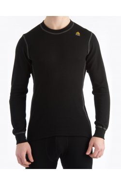 Термофутболка муж. Aclima WarmWool Crew Neck Man Black L