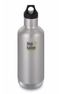 Термофляга Klean Kanteen Classic Vacuum Insulated Brushed Stainless 946 ml