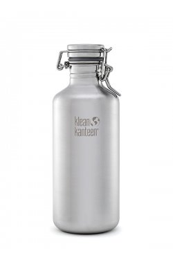 Фляга для пива и газированных напитков Klean Kanteen Growler Brushed Stainless 1182 ml