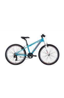 """Велосипед 24"""" Leon JUNIOR AM V-br 2019 (розовый)"""