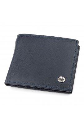 Мужской кошелек ST Leather 18303 (ST159) кожаный Синий, Синий