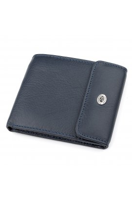 Кошелек ST Leather 18315 (ST155) кожаный Синий, Синий