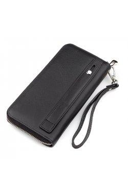 Мужской кошелек ST Leather 18422 (ST45) натуральная кожа Черный, Черный