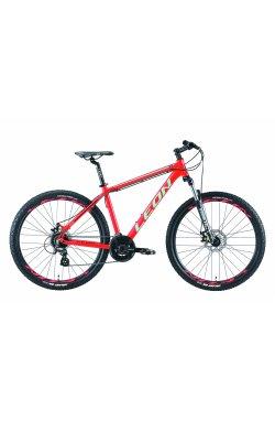 "Велосипед 27.5"" Leon XC 90 DD 2019 (красно-бирюзовый)"