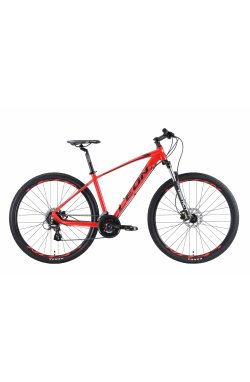 """Велосипед 29"""" Leon TN 80 HDD 2019 (красно-черный)"""